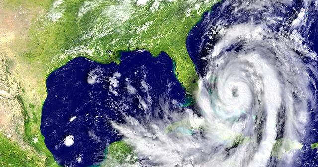 Nasa rendering of Hurricane Matthew