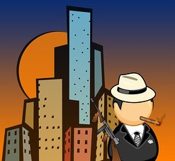 criminal in hot city art