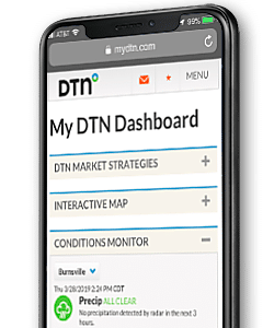 mydtn screenshot on black mobile