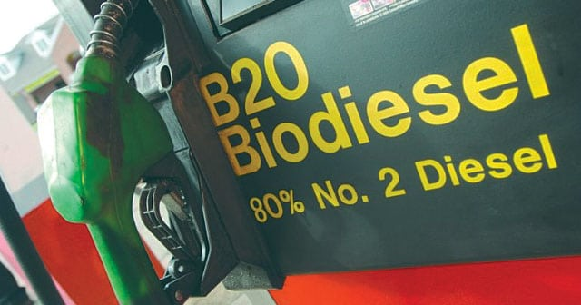 B20 biodiesel pump