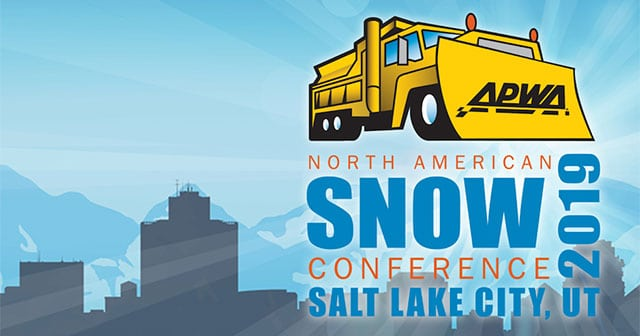 norht american snow conference convention logo