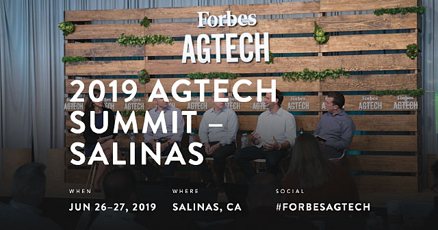 forbes agtech summit leaders