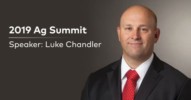 ag summit speaker luke chandler
