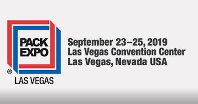 pack expo convention 2019 logo and event date