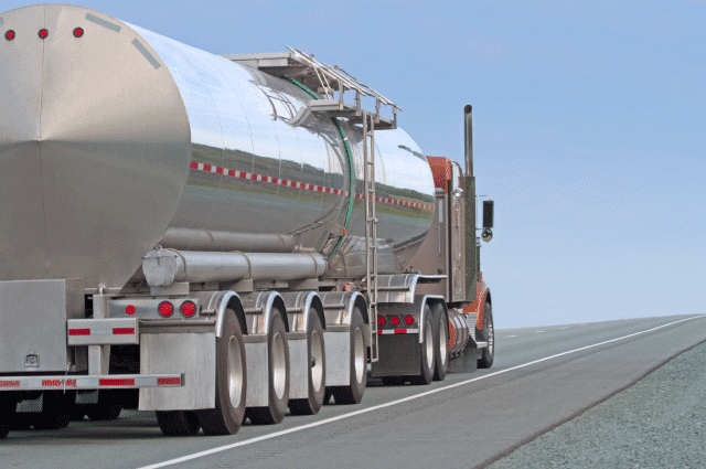 Fuel Truck Driving