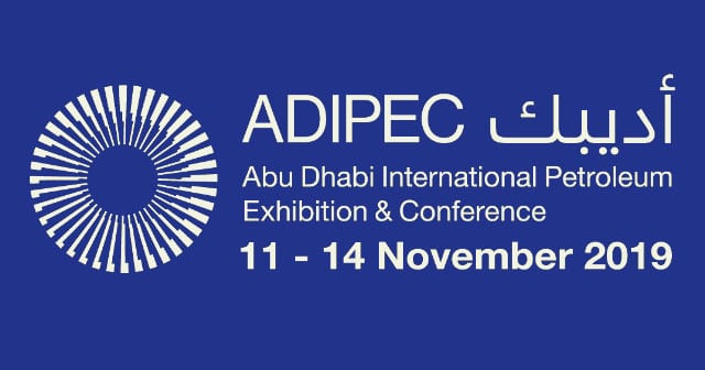 news insights adipec 2019 logo blue