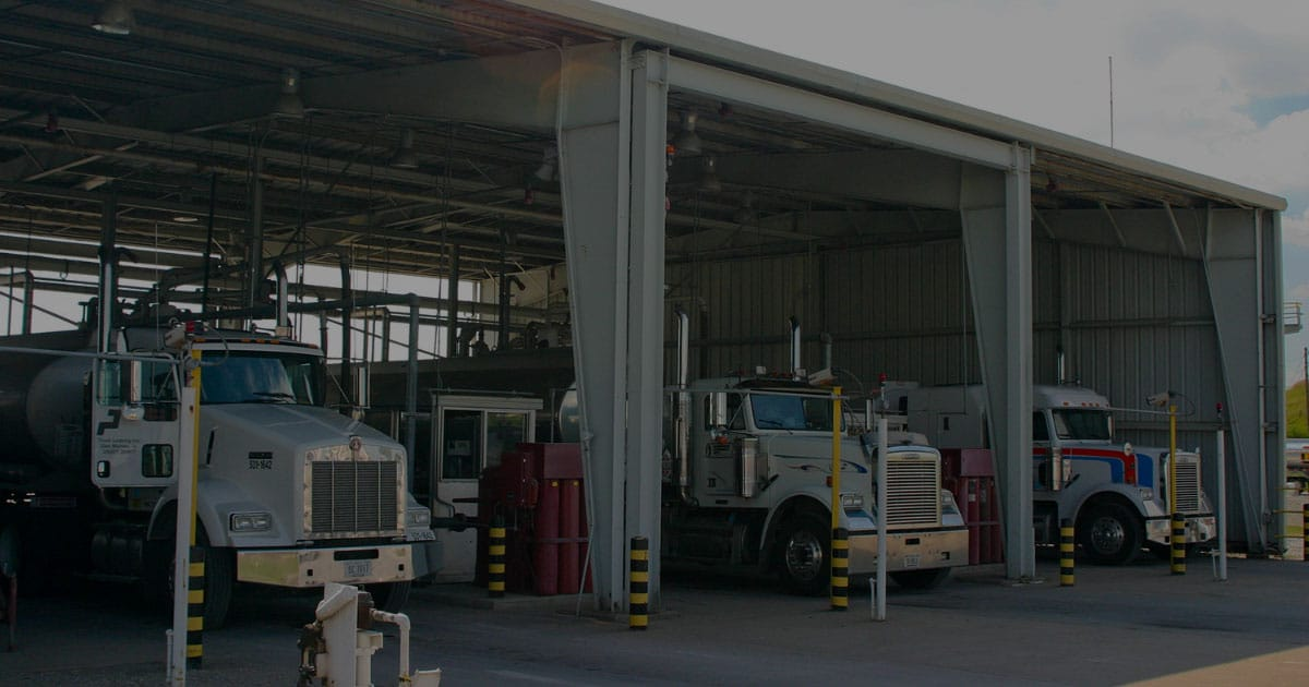trucks at terminal features benefits selling fuel