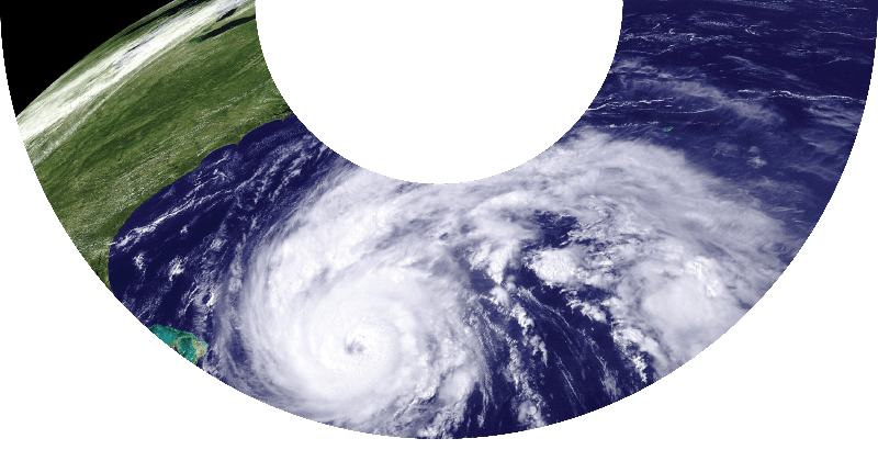 severe and tropical weather product card hurricane image