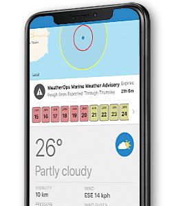 weatherops mobile phone screenshot