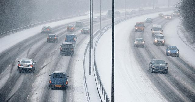 Snowy UK Traffic