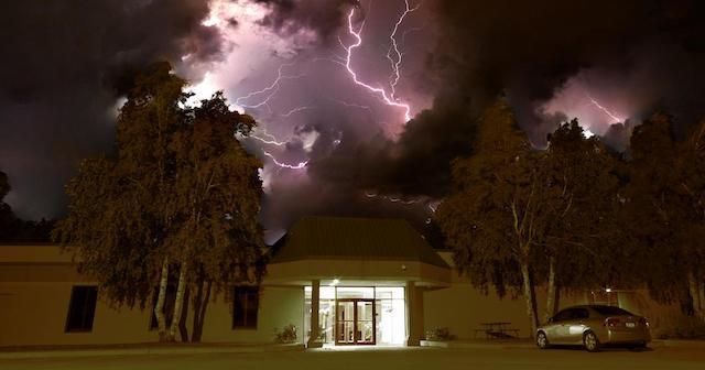 Lighting over Grand Forks
