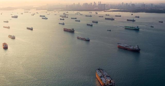 Fleet of Cargo Ships