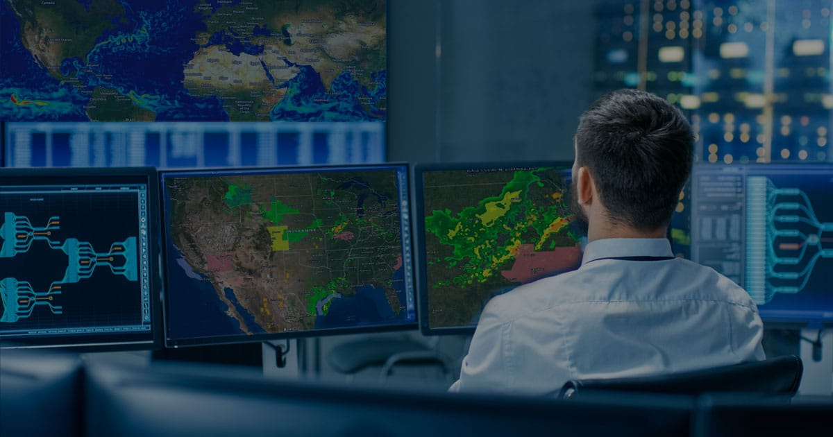 command center gis monitors