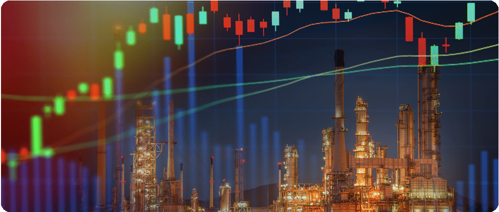 Oil Refinery with graph