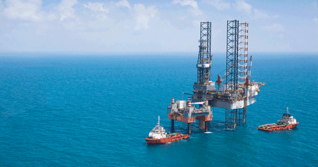 Blog Header Offshore Platform with Two Ships