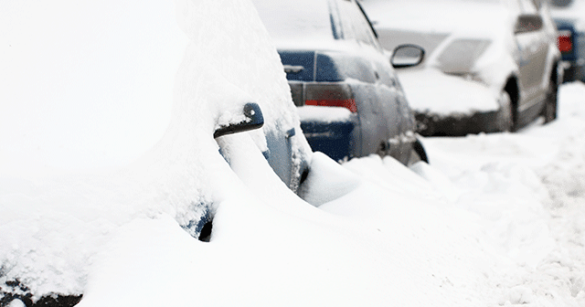 Blog header Cars covered in snow
