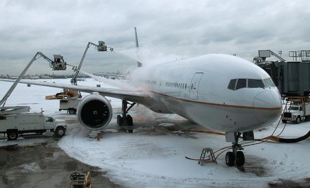 Airplane Deicing