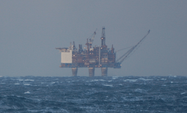 Offshore Platform in the distance