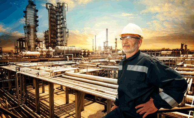 Engineer at Oil Refinery