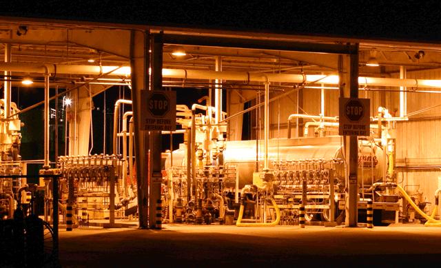 Fuel truck in Terminal