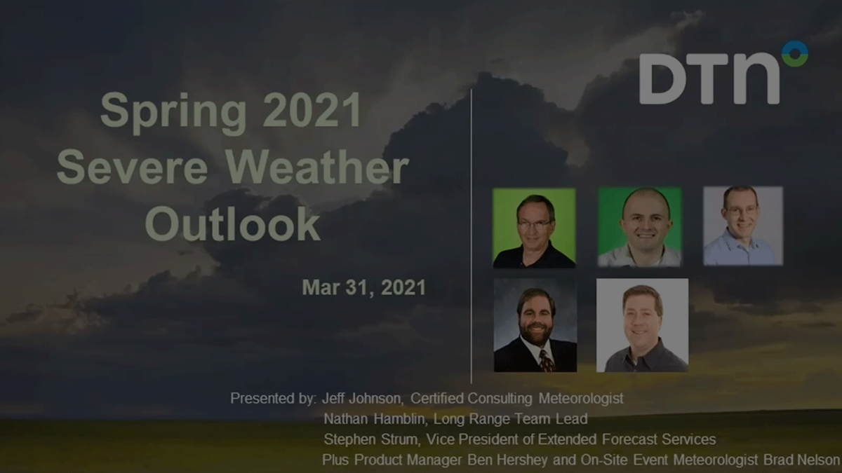 Video Background Spring Severe Weather Outlook Public Safety
