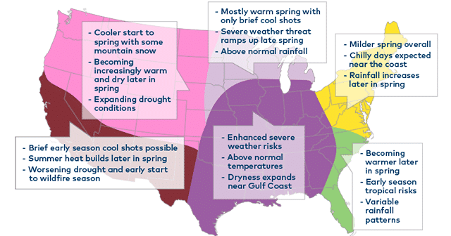 Blog Header U.S. Weather Map