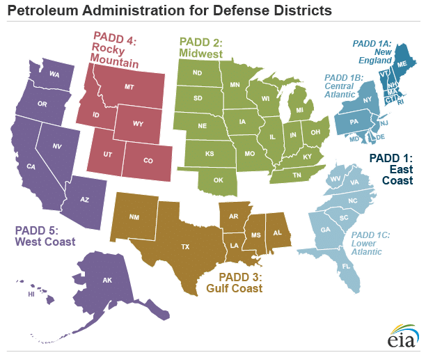 Petroleum Administration for Defense Districts