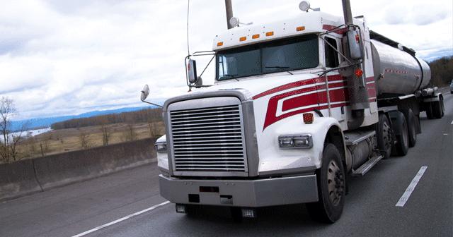 Blog Header Fuel truck driving