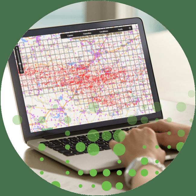 Laptop with radar