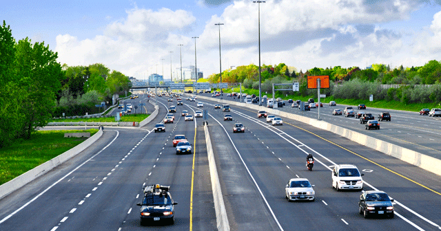 News Insights Cars driving on highway