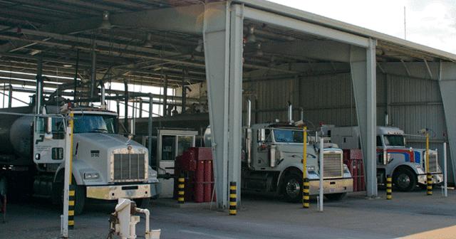 News Insights Fuel Trucks in Rack