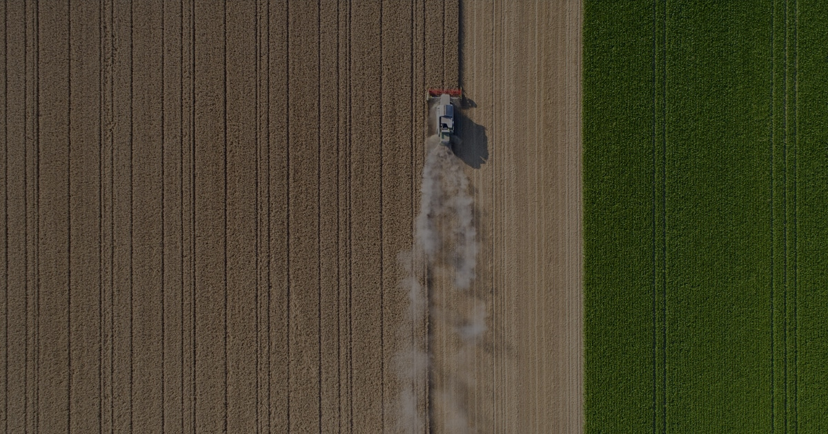 Feature Ag Aerial View