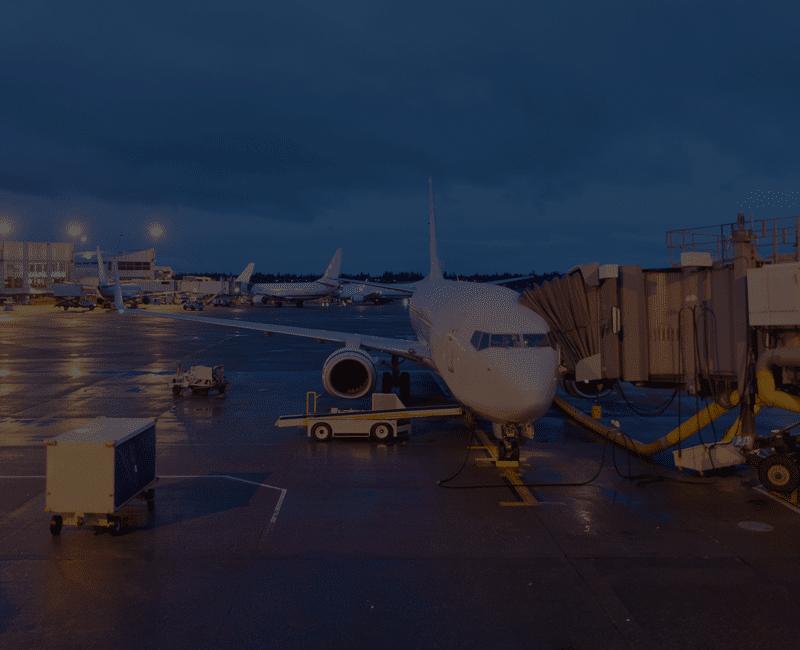 Resource Airplane on Tarmac