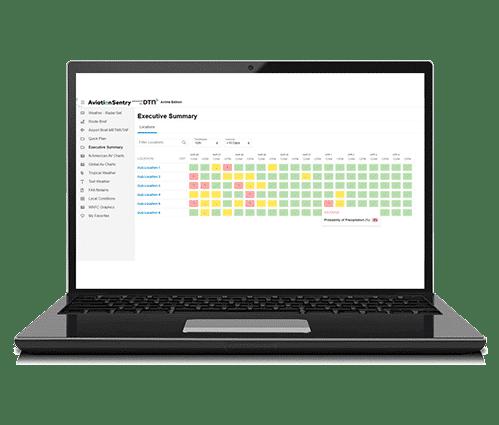 AviationSentry Executive Summary Laptops