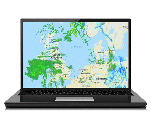 Future Radar Laptop
