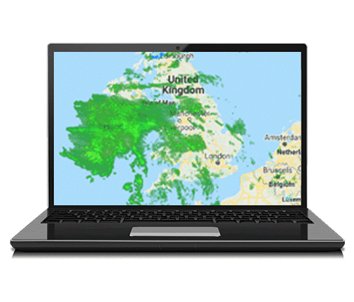 Composite Radar Laptop