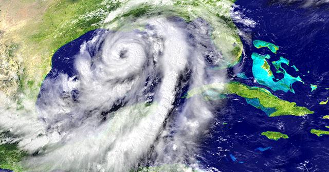 Hurricane on map Blog Header
