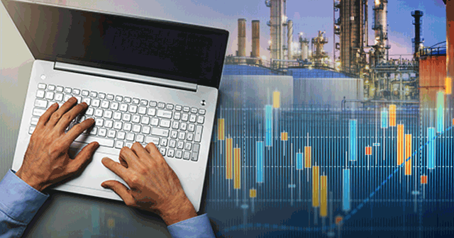 Blog Header Fuel Buyer with Graph and Refinery