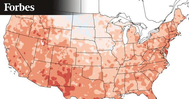 News Insights Temperature Change Map