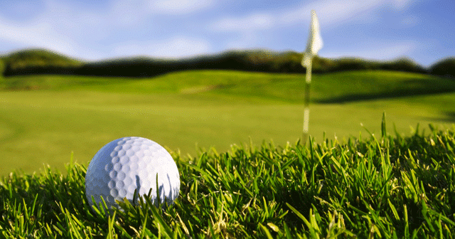 News Insights Golfball in front of flag