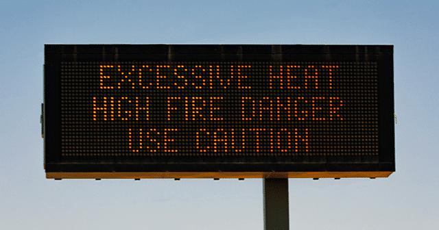 Blog Header Extreme Heat Sign