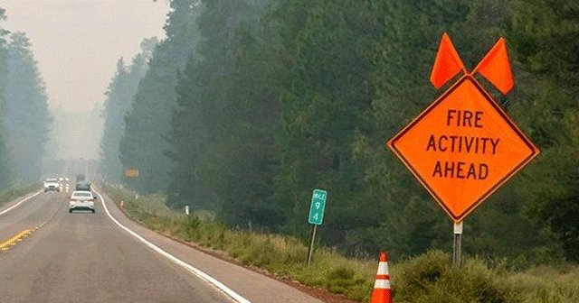 News insights Fire activity ahead sign
